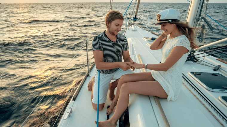 Marriage Proposals On Boat