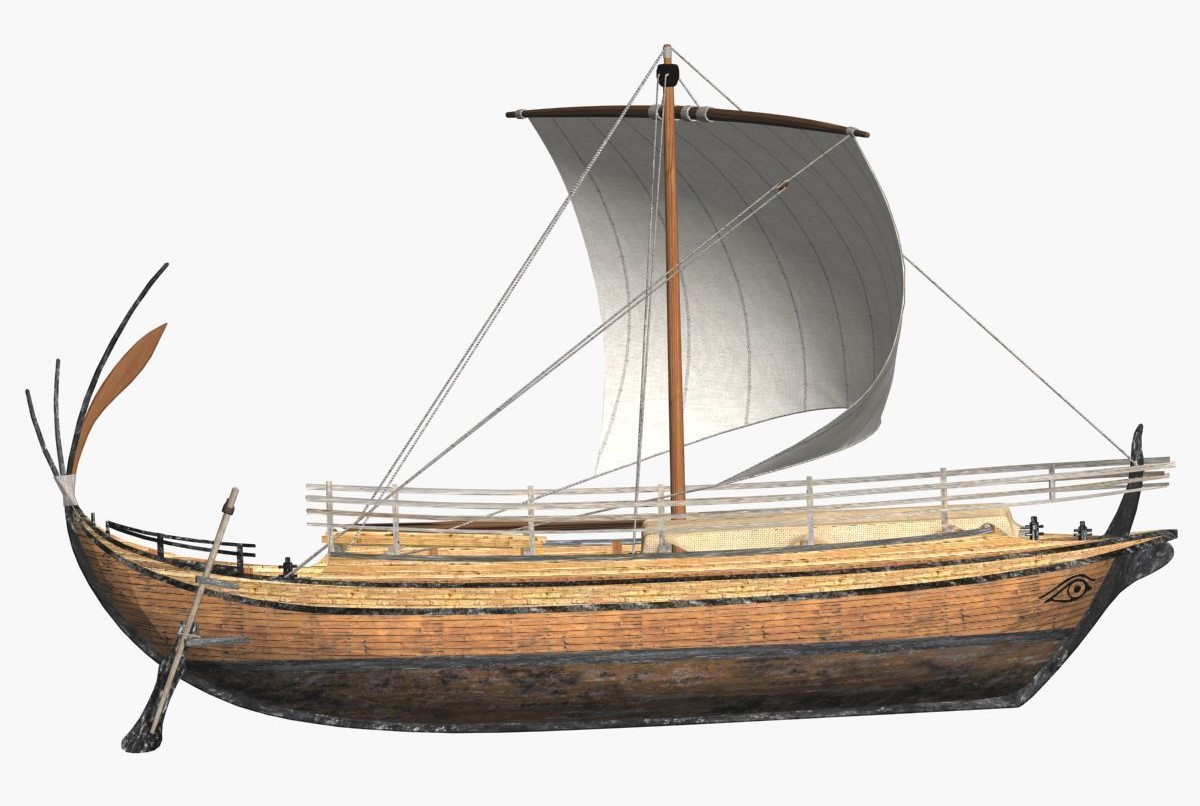 Ancient Greek Freight Ship